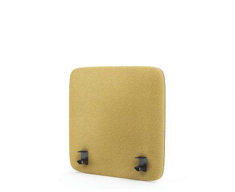 Panel akustyczny na biurko 60X60 żółty